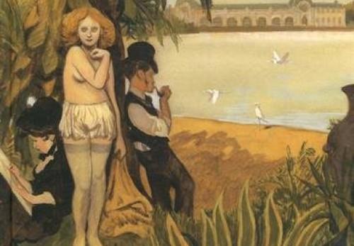 Manuele Fior, auteur de la BD 'Les variations d'Orsay'