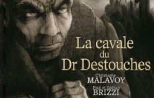 Christophe Malavoy, Paul et Gaëtan Brizzi, auteurs de 'La cavale du dr Destouches'