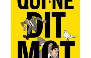 De Groodt et Panaccione, auteurs de la BD 'Qui ne dit mot'