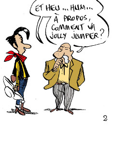 le lucky luke de Bouzard