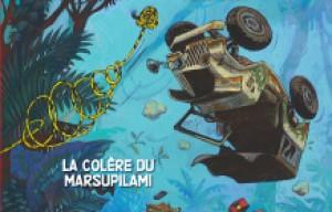 'Spirou et Fantasio, la colère du Marsupilami'. Yoann, Vehlmann