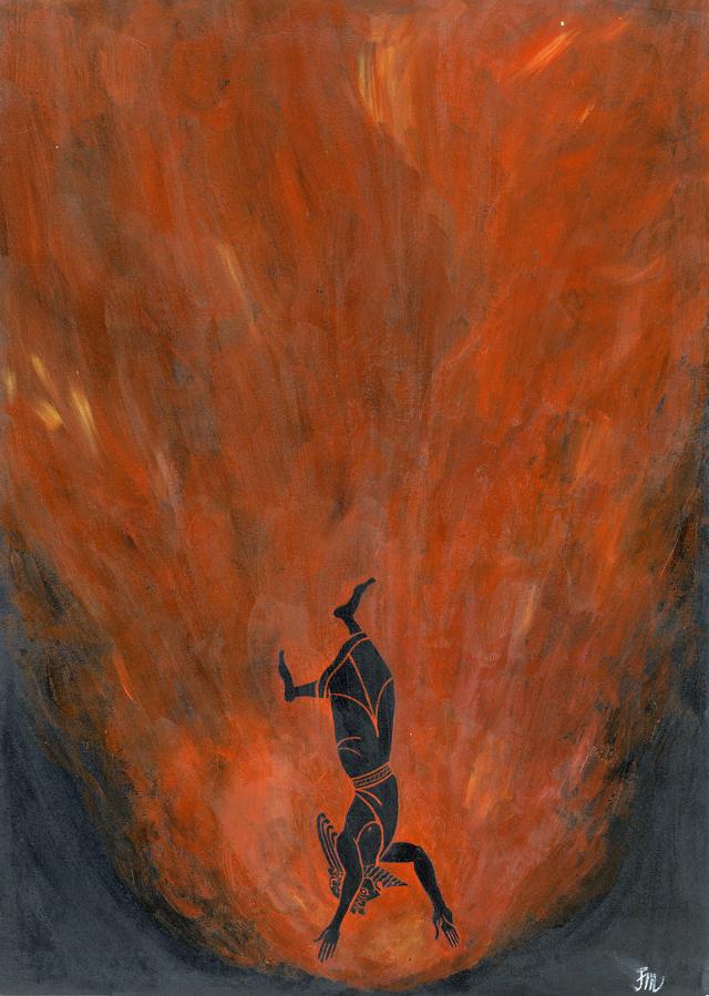 Couverture : 'Skandalon'. Julie Maroh. Glénat.