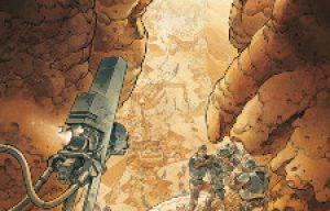 'On Mars'. Sylvain Runberg, Grun.