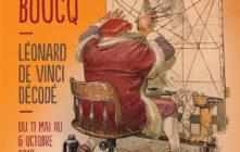 expo François Boucq – Léonard de Vinci décodé, à Paris