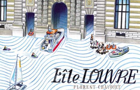 'L'île Louvre', Florent Chavouet