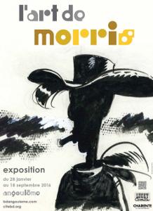 'L'art de Morris', exposition à Angoulême jusqu'au 18 septembre 2016