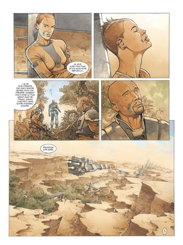 On Mars'. Sylvain Runberg, Grun. | L'actualité de la bande dessinée